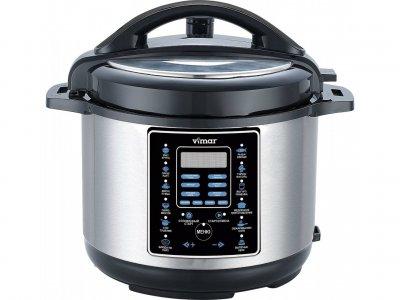 Мультиварка скороварка пароварка Vimar 6 литров 1000 Вт. Лучшая домашняя фритюрница мощная помощница на кухне рисоварка VMC268B