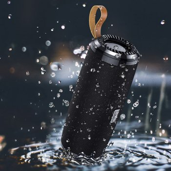 Портативная Bluetooth колонка Hoco BS38 Cool freedom sports Black