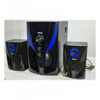 Акустическая система 2.1 Музыкальный центр ZXX 25Вт Акустика для дома USB/SD/AUX/Bluetooth/FM-радио(4809)