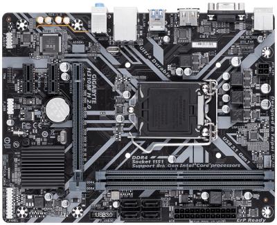 Материнська плата Gigabyte H310M H 2.0 (s1151, Intel H310, PCI-Ex16)