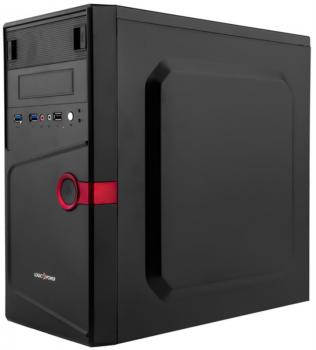 Корпус Logicpower 6104-400w 8см, 1xUSB2.0, 2xUSB3.0, Black
