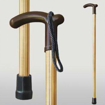 Трость Мірта Фигурная светлая деревянная (20000005220121)
