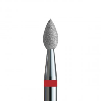 Фреза алмазная №157 V104.257.514.023 Kodi пламя маленькое 257 мягкий абразив d 2.3 мм (20090142)