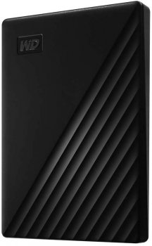 "Жесткий диск Western Digital My Passport 2TB WDBYVG0020BBK-WESN 2.5"" USB 3.0 External Black"