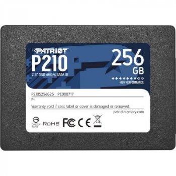 Накопитель SSD 2.5 дюйма 256GB Patriot (P210S256G25)