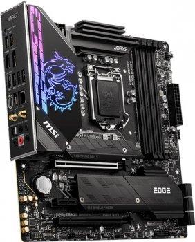 Материнська плата MSI MPG Z590M Gaming Edge WiFi (s1200, Intel Z590, PCI-Ex16)