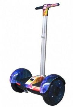 """Гироскутер с ручкой А8 Smart Balance 10.5"""" закат"""