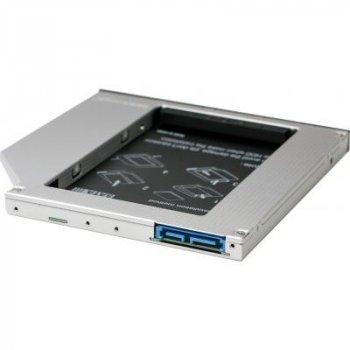 Фрейм-переходник Grand-X HDD 2.5'' to notebook 9.5 mm ODD SATA3 (HDC-26)