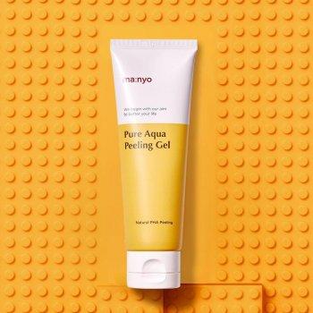 Пилинг-гель с PHA-кислотой для сияния кожи Manyo Factory Pure Aqua Peeling Gel 120 мл