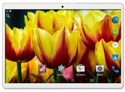 Планшет-телефон Adronix MT232 3G Silver 2/32GB + Чехол-книжка + Карта памяти 64GB