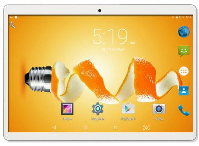 Планшет-телефон Adronix MT232 3G Silver 2/32GB + Чехол-клавиатура