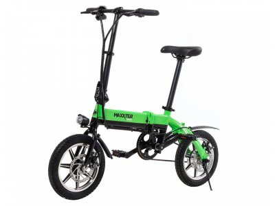 Электровелосипед Maxxter Mini 14'' Black-Green