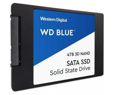 SSD накопитель WD Blue 4TB SSD (WDBNCE0040PNC-WRSN)