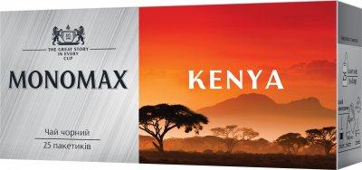 Упаковка чая Мономах черного Kenya Tea 3 пачки по 25 пакетиков (2000006780850)