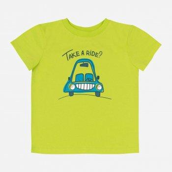 Пижама (футболка + шорты) Бемби PG54 TR0 Салатовый/Бирюзовый