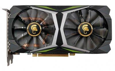 Видеокарта Manli, GeForce RTX 2060, Gallardo, 6Gb GDDR6, 192-bit, HDMI/3xDP, 1725/14000 MHz, 8-pin (M-NRTX2060G/6REHPPPV2-M2435)