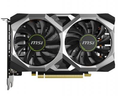 Видеокарта MSI, GeForce GTX 1650 SUPER, VENTUS XS OC, 4Gb DDR6, 128-bit, DVI-D/HDMI/DP, 1740/12000 MHz, 6-pin (GTX 1650 SUPER VENTUS XS OC)