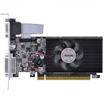 Видеокарта AFOX, GeForce 210, 1Gb GDDR3, 64-bit, VGA/DVI/HDMI, 589/1000 MHz, Low Profile (AF210-1024D3L8)