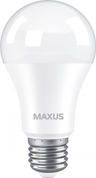 Лампа світлодіодна MAXUS A60 10 Вт 4100 K 220 В E27 (1-LED-776)