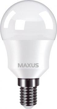 Лампа светодиодная MAXUS G45 8 Вт 3000 K 220 В E14 (1-LED-749)