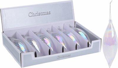 Набір ялинкових іграшок Christmas Decoration 6 шт. (ACT403700)