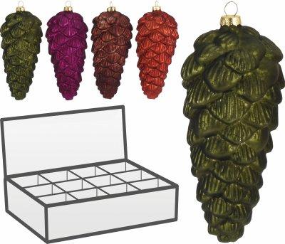 Набір ялинкових іграшок Christmas Decoration 12 шт. (ACT403180)