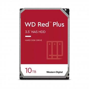 Жорсткий диск 3.5 Western Digital Red Plus 10TB 7200rpm 256МB SATA III (WD101EFBX)