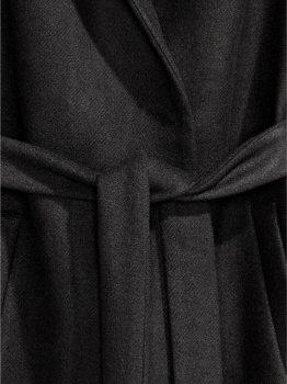 Пальто H&M 3128780 Чорне