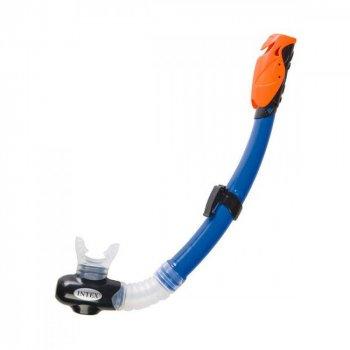 Набор для плавания для подростка и взрослого Intex 55962 (маска 55981: размер L, (14+), обхват головы ≈ 54-65 см, трубка 55924, синий