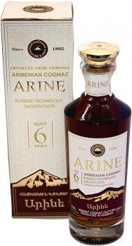 Бренді Арине 0.5 л 40% 6 років витримки в подарунковій упаковці (4850001921547)