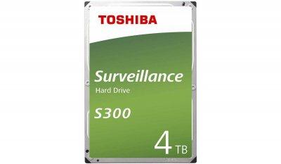 Жесткий диск Toshiba S300 4 TB (HDWT140UZSVA)