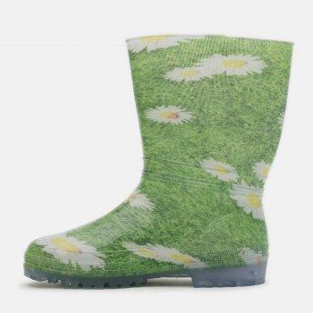 Резиновые сапоги Demar Rainny Print 0054A Зеленые