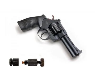 Револьвер під патрон Флобера Safari РФ-441 м пластик + Обжимка патронів Флобера в подарунок!