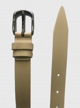 Мужской ремень кожаный Sergio Torri 2-055 115-125 см Бежевый (2000000003481-1)