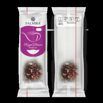 Чай Palmira Королевский десерт порционный фруктово-ягодный 10 пакетов-саше по 3,2г