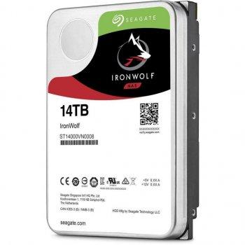"Жесткий диск 3.5"" 14TB (7200 rpm, 256MB, SATAIII) Seagate IronWolf (ST14000VN0008)"