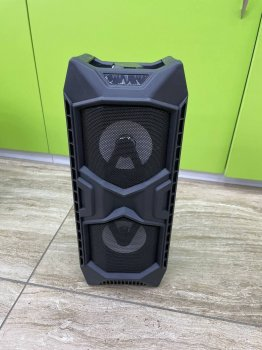 Портативная Bluetooth колонка JBK- 8878, Black, USB, FM, Акустическая система, С музыкальной подсветкой