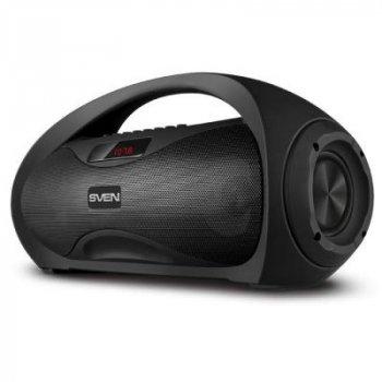 Многофункциональная портативная акустическая система c подсветкой SVEN PS-425 Black