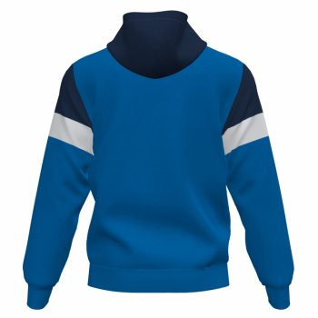 Олімпійка Joma Crew IV 101537.703 колір: синій/темно-синій