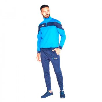 Спортивный костюм Zeus TUTA MARTE Z00454 цвет: темно-синий/голубой