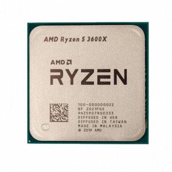 Процессор AMD AM4 Ryzen 5 3600X (3.8GHz 6 Core 12 Thread 32Mb) Tray