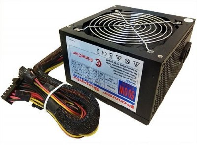 Блок живлення FrimeCom SM500R (12 см вентилятор)