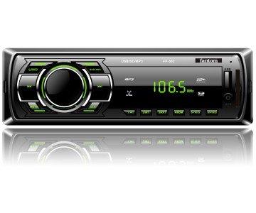 Автомагнітола Fantom FP-302 Black/Green (10199083)