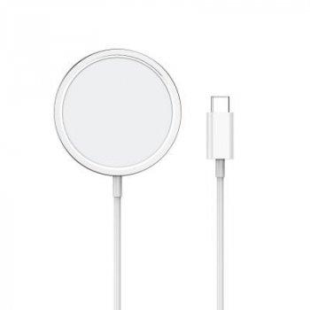 Зарядное устройство ColorWay MagSafe Charger 15W for iPhone (White) (CW-CHW27Q-WT)