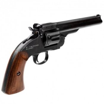 "Пневматичний Револьвер ASG Schofield Pellets 6"" Корпус - метал"