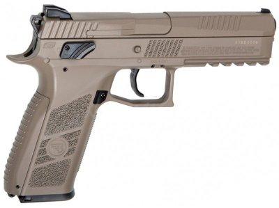 Пістолет пневматичний ASG CZ P-09 Pellet FDE Blowback