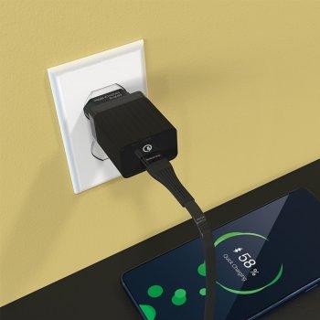 Зарядное устройство Borofone Quick Charge 1USB 3A QC3.0 18W