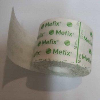 Пластырь фиксирующий из нетканого материала Mefix 5см х 10м