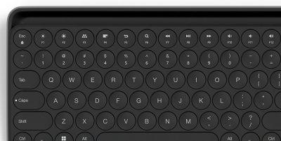 Клавіатура бездротова Xiaomi Miiiw Bluetooth/USB Black (MWBK01)