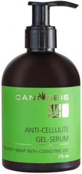Антицелюлітна гель-сироватка для обгортання Cannabis з коензимом Q10 і екстрактом канабісу 275 мл (4820218117088)